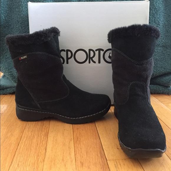 Sporto Shoes | Suede Polartec Boots | Poshma