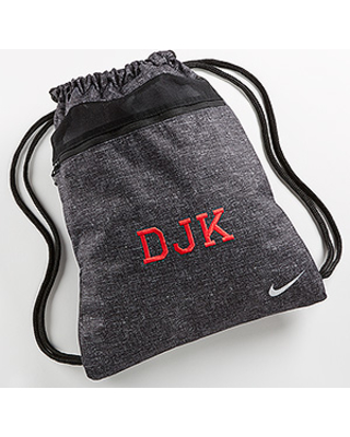 New Deal for Personalized Nike Drawstring Sports Bags .