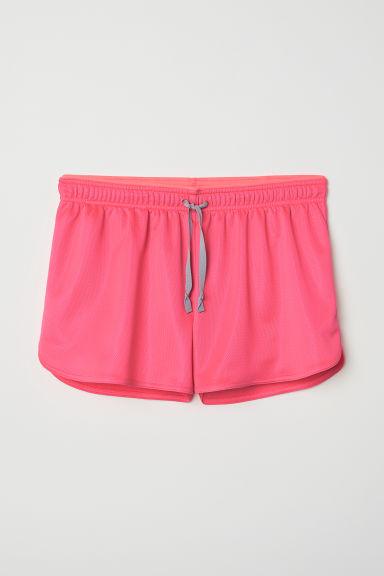 Sports shorts - Neon pink - Ladies | H&M