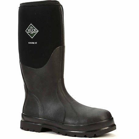 Muck Boot Company Men's Chore Tall Steel Toe Boot at Tractor .
