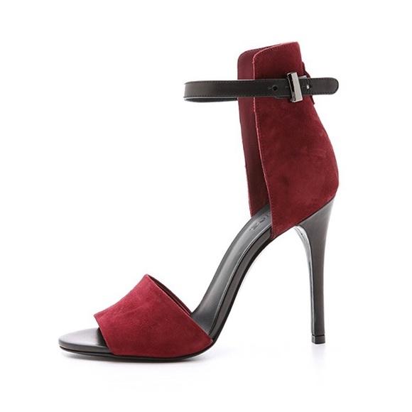 Vince Shoes | Giustina Bordeaux Sandals Stilettos | Poshma
