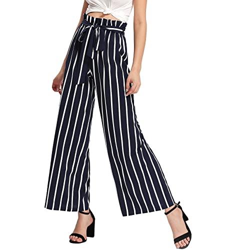 Women's Striped Pants: Amazon.c