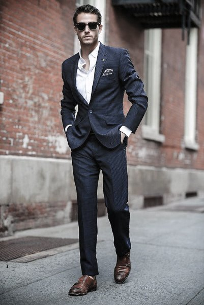 90 Navy Blue Suit Styles For Men - Dapper Male Fashion Ide