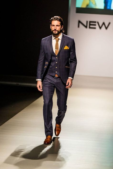 Suits, Men Style, Mens Fashion,Navy Suit, Men Fashion, Men'S .