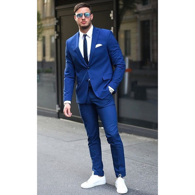 Men Suit Style - Dethrone Clothi