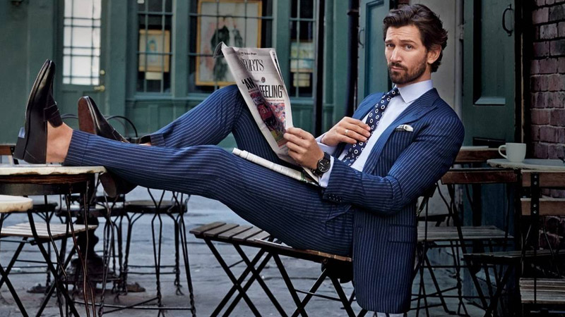 How to Wear a Pinstripe Suit with Style - The Trend Spott