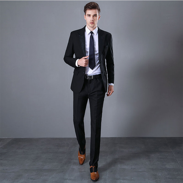 2020 Suits Mens Casual Style Daily Work Wear Suits Business Mens .