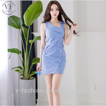 2018 New Article Blue Check Women Clothes Of Large Size Casual .