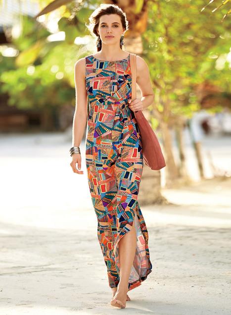 Rhea Maxi-Dress - Peruvian Connecti