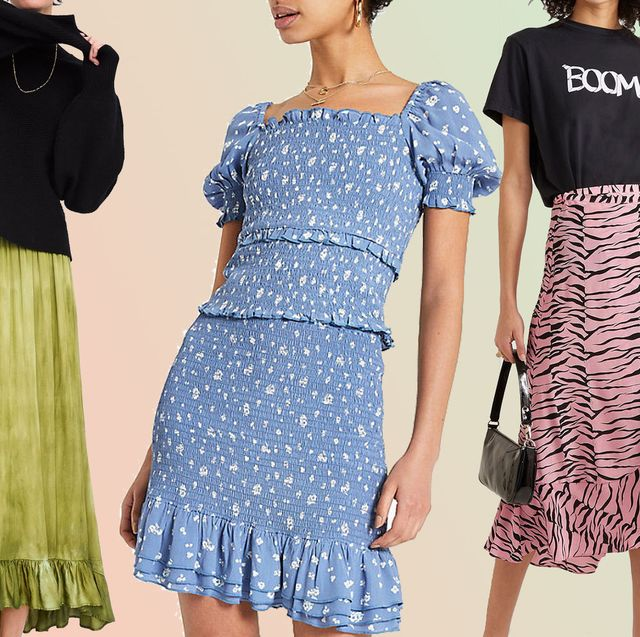 20 best summer skirts - long, knee-length and midi summer skir