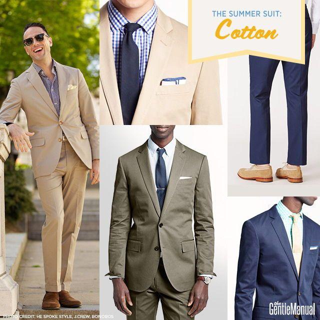 Men's Summer Suits: A Gentleman's Guide | Designer suits for men .