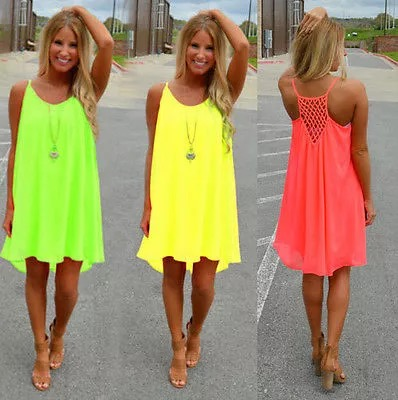 Neon Sun Dresses | House of Royel