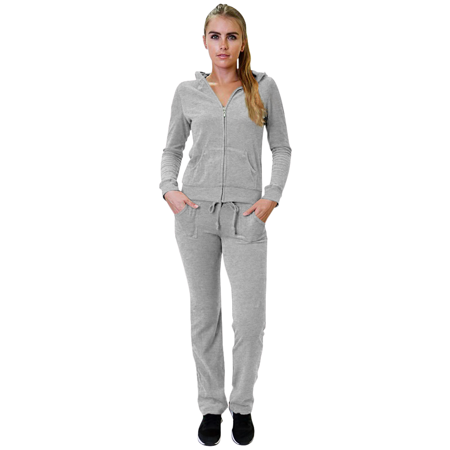 Simlu - Jersey Sweat Suits for Women Jacket Hoodie and Pants .
