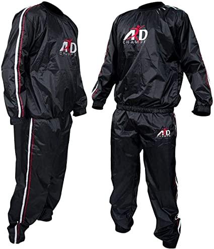 Amazon.com : Heavy Duty ARD Sweat Suit Sauna Exercise Gym Suit .