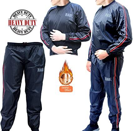 Amazon.com : RAD Sauna Suit Men, Women Weight Loss Jacket Pant Gym .