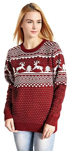 260 Best Cute Christmas Sweaters for Women images | Christmas .