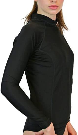 Amazon.com: Swim Shirts for Women - UV 50 Sun Protection Long .