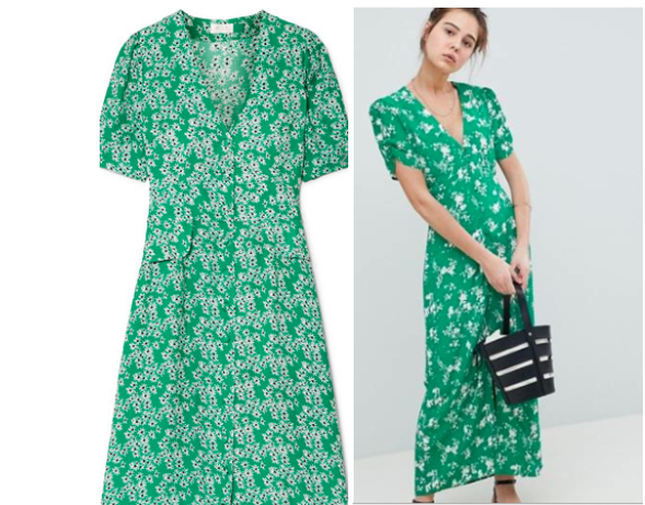 Currently Coveting: Green Floral Tea Dresses – Dwell in Possibili
