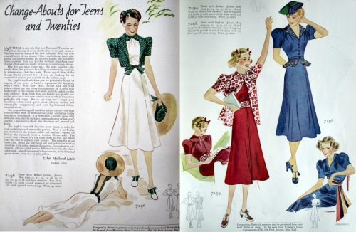 teen fashions 1930s | witness2fashi