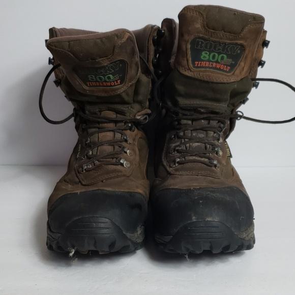 Rocky Shoes | 800 Gram Thinsulate Insulation | Poshma