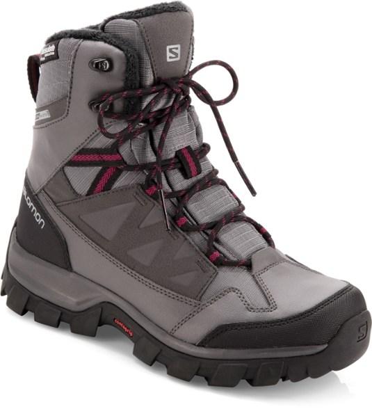 Salomon Chalten Thinsulate Climashield Waterproof Boots - Women's .