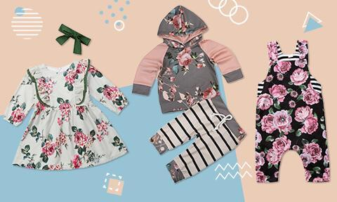 Toddler Girl Clothes 6M-5T | The Trendy Toddlers | Free Shippi
