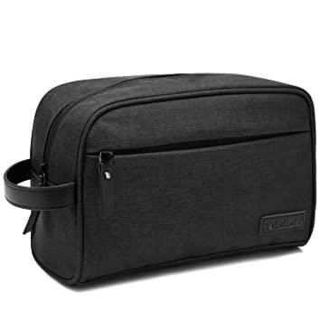 Amazon.com : Dopp Kit Mens Toiletry Bag Travel Bathroom Bag .