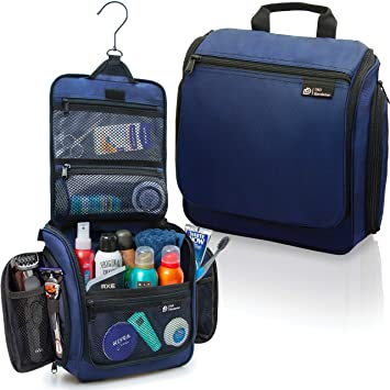 Amazon.com : Hanging Travel Toiletry Bag for Men and Women – Large .