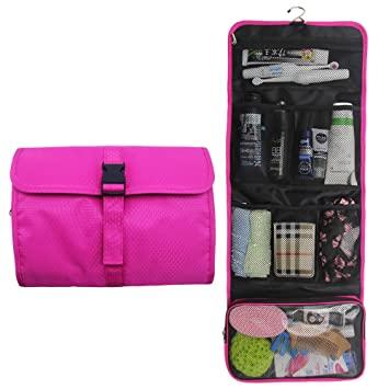 Amazon.com : Hanging Travel Toiletry Bag Travel Kit Organizer .