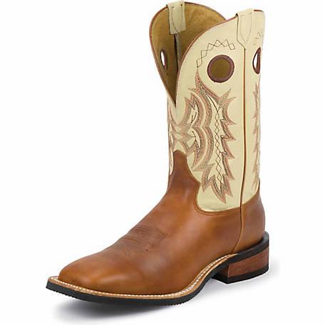 Tony Lama Men's Suntan Rebel Americana Western Boot with .