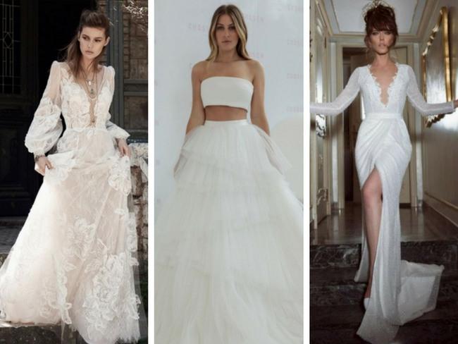 20 Unique Wedding Dresses For The Non-Traditional Bride - Minq.c