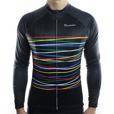 Men's Long Sleeve Cycling Jersey - FIBRE - Trendy Cycli