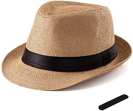 Mens Fedora Hat for Women - Khaki Fedora Trilby Hat 1920s Cap Men .