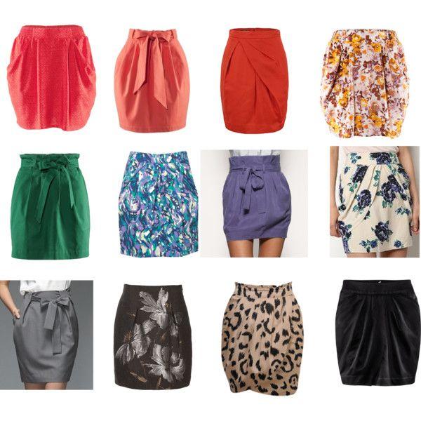 Tulip Shaped Skirts | Tulip skirt, Soft gamine, Fashi