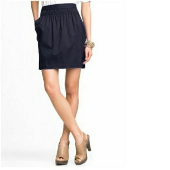 Banana Republic Skirts | Black Tulip Skirt Sz 6 Like New | Poshma