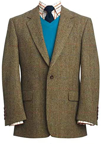 Tweed Jacket Men
