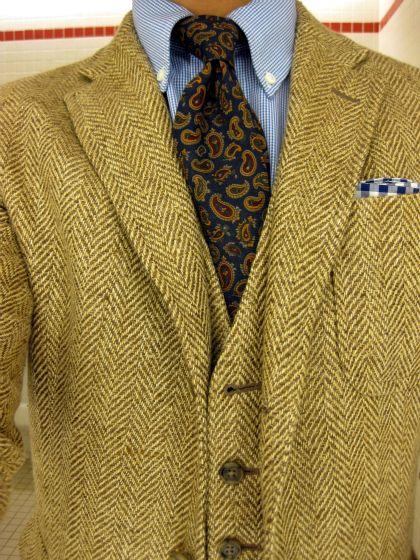 Jacket + Vest - Rugby | Shirt + Tie - PRL | PS - J.Crew | Mens .