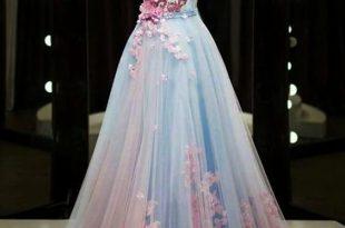 Pink Dresses, Unique Dresses, Dresses Blue Long | Hipr
