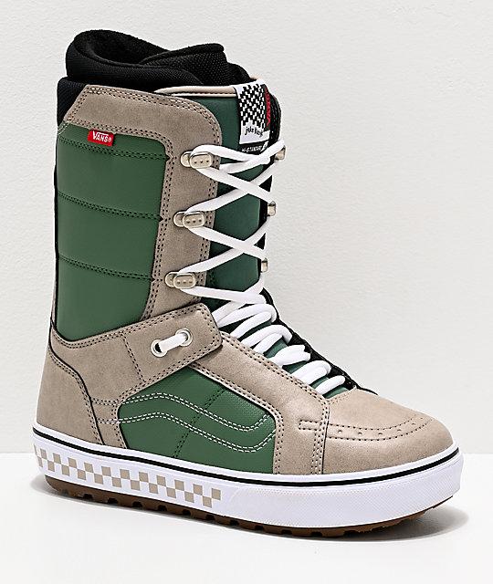 Vans Hi-Standard OG Green Snowboard Boots 2020 | Zumi