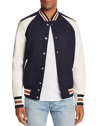 COACH 1941 Icon Color-Block Varsity Jacket | Bloomingdale