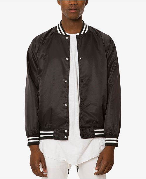 Jaywalker Men's Varsity Jacket & Reviews - Coats & Jackets - Men .