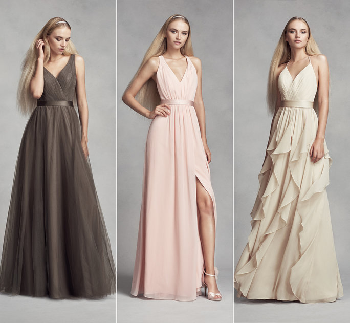WHITE by Vera Wang's Spring 2017 Bridesmaids Dresses Will Keep .