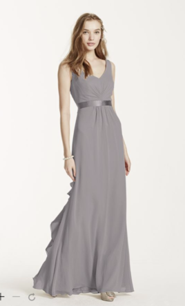 David's Bridal Vera Wang Bridesmaid Dress | New, Size: 2, $