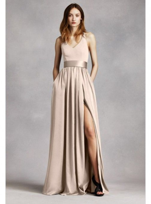 Used Other Unworn, unaltered White by Vera Wang bridesmaids d .