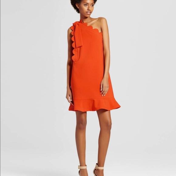 Victoria Beckham Dresses | Orange Dress | Poshma