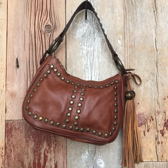 Vintage Bags | Leather Shoulder Bag | Poshma