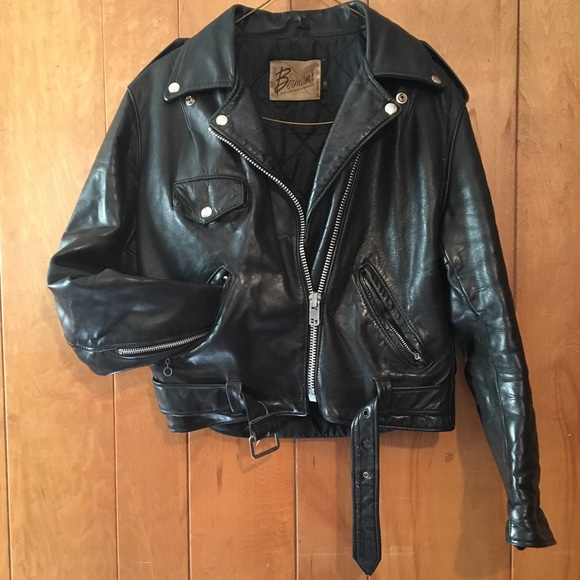 Vintage Jackets & Coats | Womens Leather Jacket | Poshma
