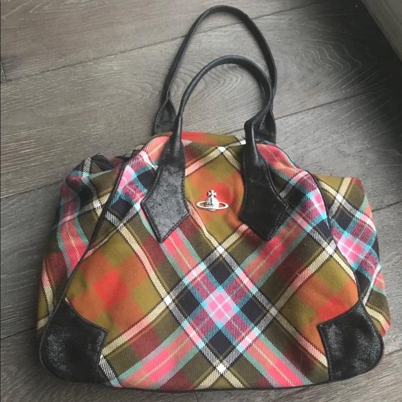 Vivienne Westwood Bags | Tartan Bag Authentic | Poshma