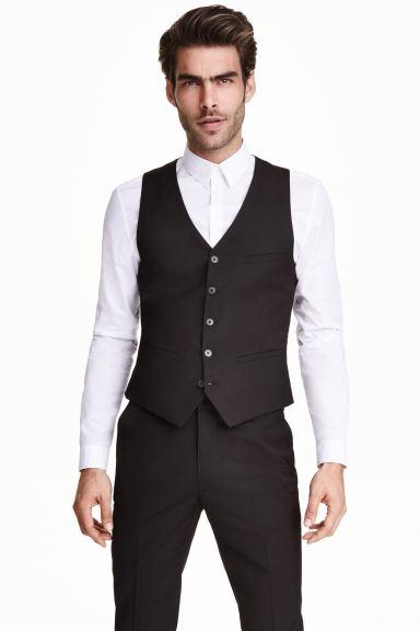 Suit waistcoat - Black - Men | H&M