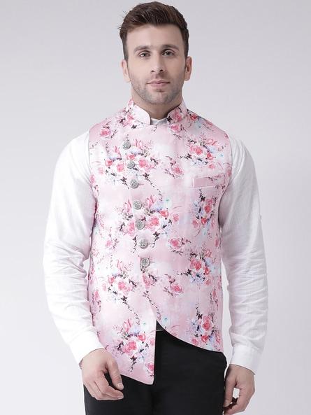 Buy Pink Blazers & Waistcoats for Men by hangup Online | Ajio.c